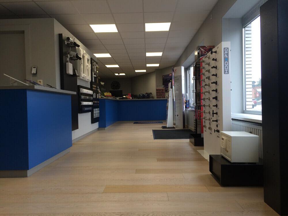 Slotenonline showroom 2