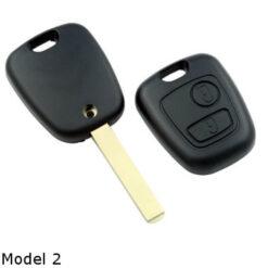 Citroen sleutel model 2