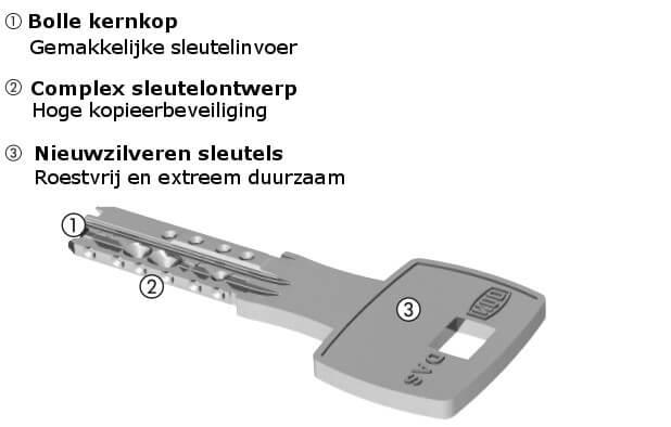 Dom IX DAS sleutel