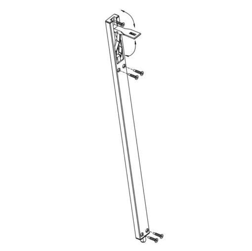 Fapim kantschuif 3716 - Technische tekening