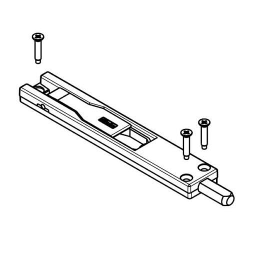 Fapim kantschuif - Technische tekening 2