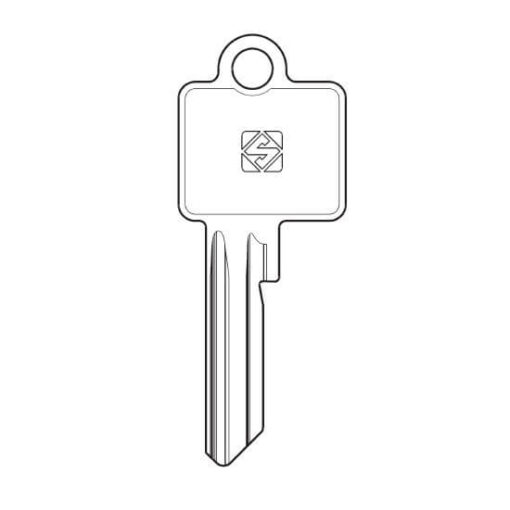 BKS sleutel BK15