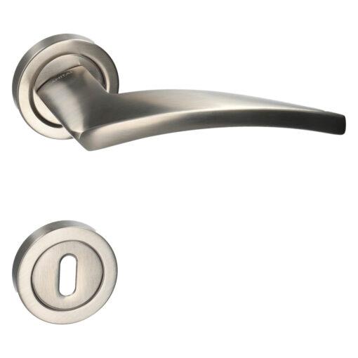HDD PRO 6.003.000 deurkruk Dune - Inox - Rozet met baardopening