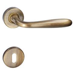 HDD PRO 6.056.060 deurkruk Alma - Brons - Rozet met baardopening