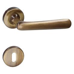 HDD PRO 6.200.060 deurkruk Vera- Brons - Rozet met baardopening