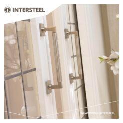 Intersteel Deurgreep Bau-Stil 307 mm nikkel mat - Sfeerbeeld