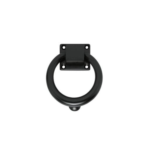 Intersteel Deurklopper rond 107 mm mat zwart
