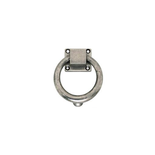 Intersteel Deurklopper rond 107 mm oud grijs