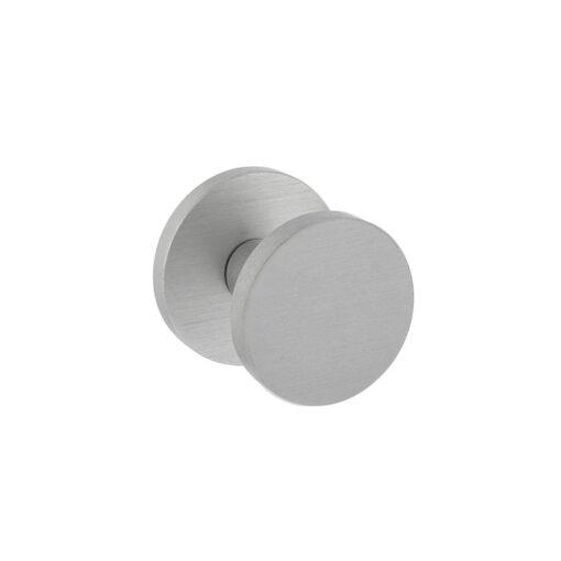 Intersteel Deurknop Rond diameter 55 mm eenzijdige montage aluminium