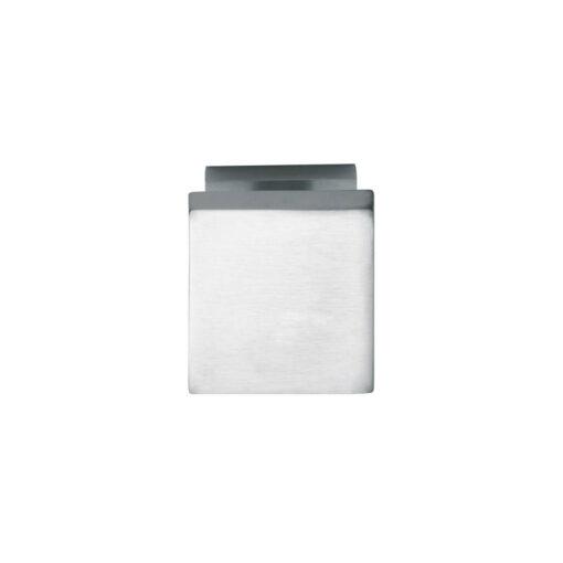 Intersteel Deurknop vierkant chroom mat