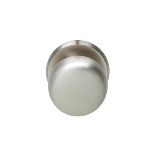 Intersteel Deurknop zwaar rond nikkel mat