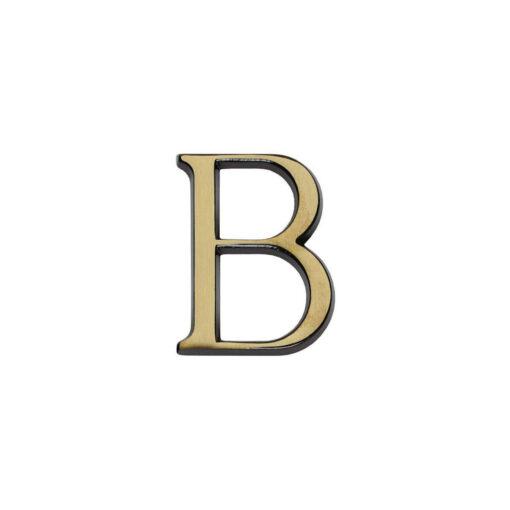 Intersteel Huisletter B Koper gebruineerd