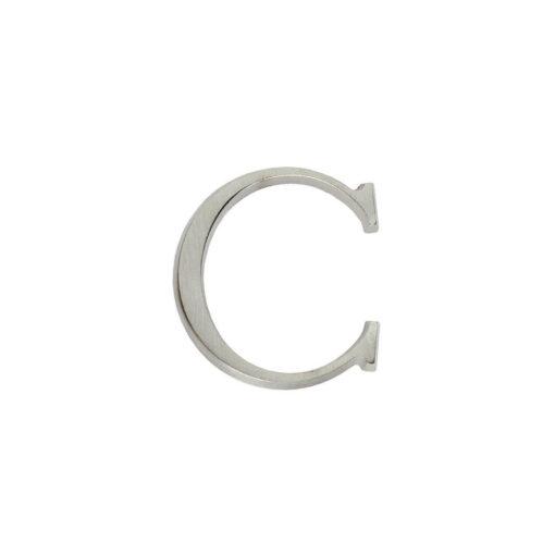 Intersteel Huisletter C nikkel mat