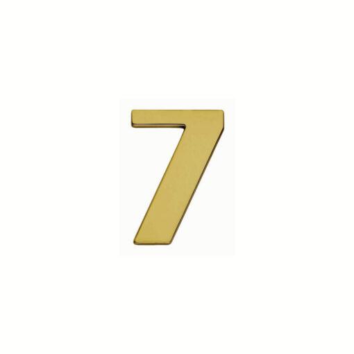 Intersteel Huisnummer 7 Koper titaan PVD