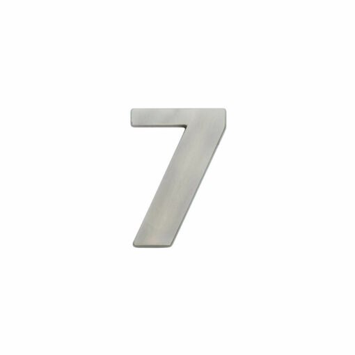 Intersteel Huisnummer 7 nikkel mat