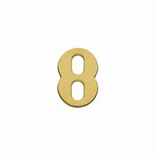 Intersteel Huisnummer 8 Koper titaan PVD