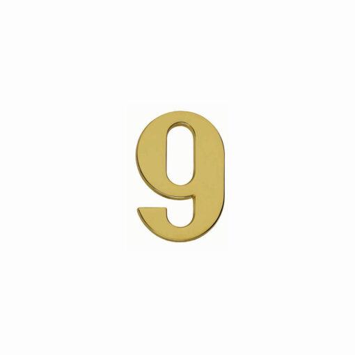 Intersteel Huisnummer 9 Koper titaan PVD