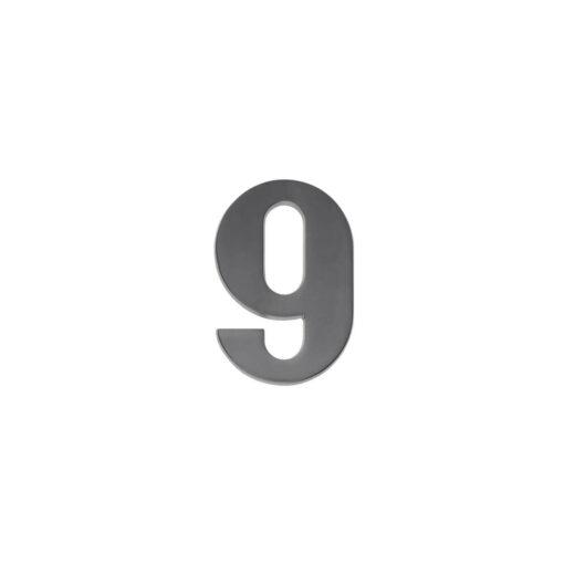 Intersteel Huisnummer 9 antraciet titaan PVD