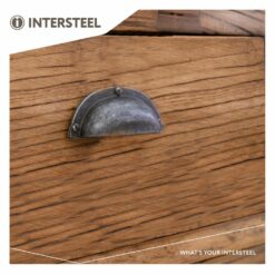 Intersteel Komgreep 97 mm oud grijs - Sfeerbeeld