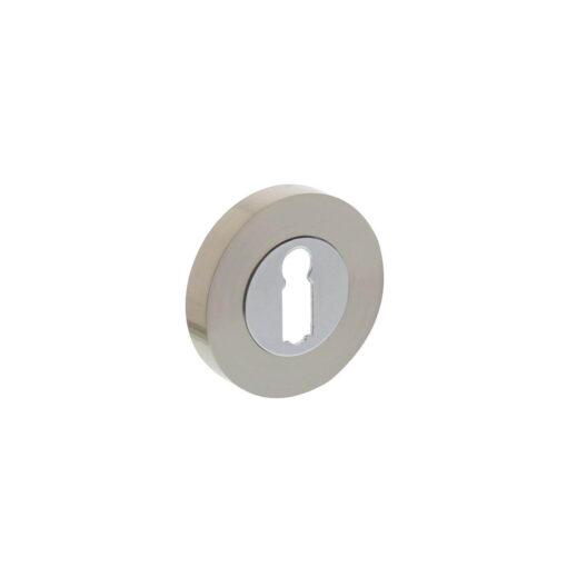 Intersteel Rozet met sleutelgat rond chroom