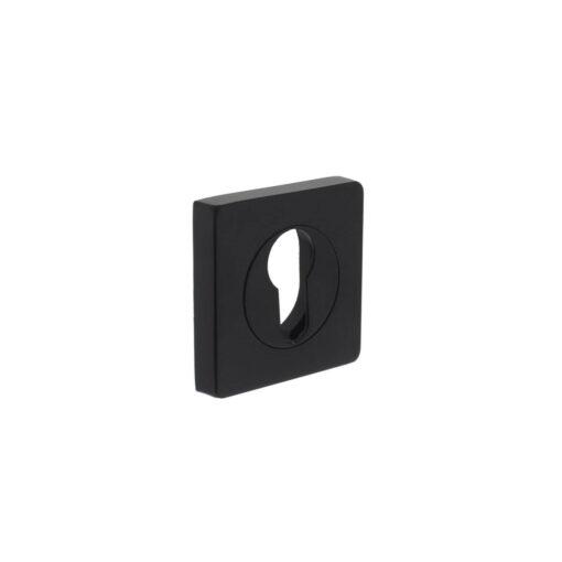 Intersteel Rozet profielcilindergat vierkant verlengd mat zwart