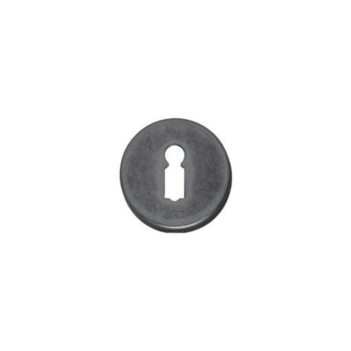 Intersteel Rozet sleutelgat oud grijs