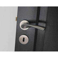 Intersteel Rozet sleutelgat rond INOX geborsteld - Sfeerbeeld