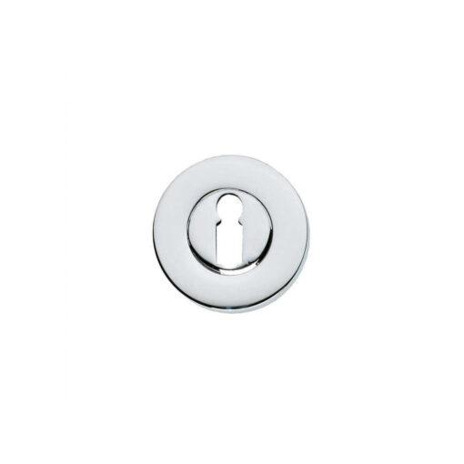 Intersteel Rozet sleutelgat rond verdekt chroom 50 mm