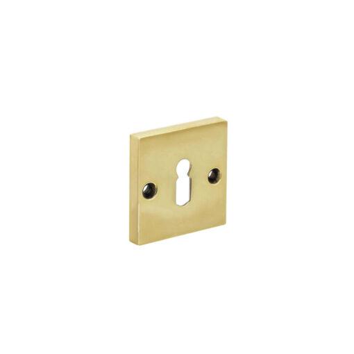 Intersteel Rozet sleutelgat vierkant Koper gelakt