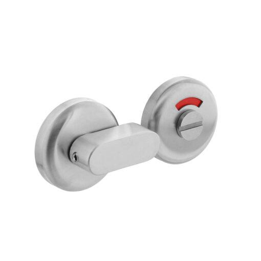 Intersteel Rozet toilet-/badkamersluiting Nobile rond INOX geborsteld 8 mm