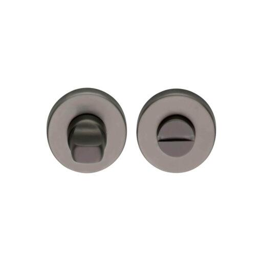 Intersteel Rozet toilet-/badkamersluiting antraciet titaan PVD