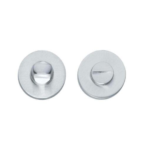 Intersteel Rozet toilet-/badkamersluiting rond chroom mat