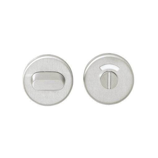 Intersteel Rozet toilet-/badkamersluiting rond verdekt INOX geborsteld 5 mm