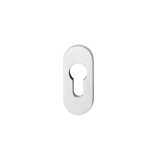 Intersteel Veiligheid-schuifrozet ovaal 10 mm INOX gepolijst