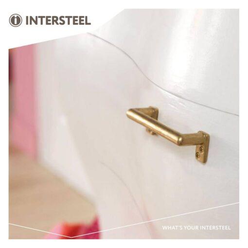Intersteel kasttrekker 108 mm Koper getrommeld - Sfeerbeeld