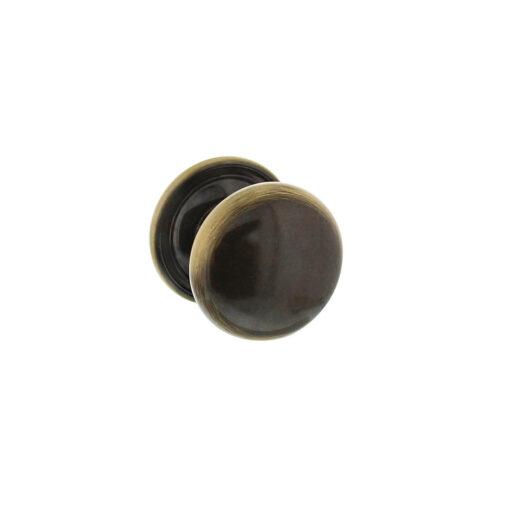 Intersteel kasttrekker Paddenstoel diameter 30 mm Koper gebruineerd