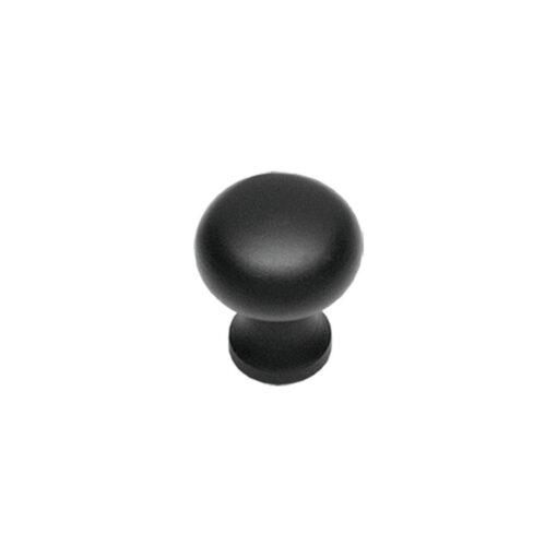 Intersteel kasttrekker Paddenstoel diameter 30 mm smeedijzer zwart