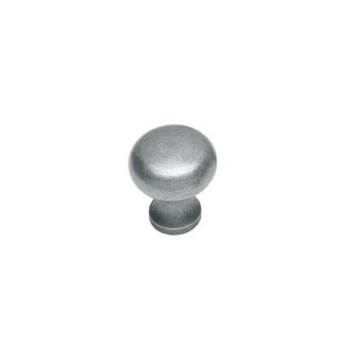 Intersteel kasttrekker Paddenstoel diameter 35 mm smeedijzer grijs