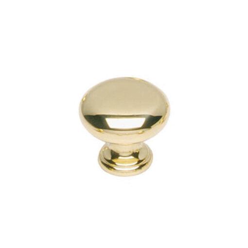 Intersteel kasttrekker Paddenstoel diameter 40 mm Koper gelakt