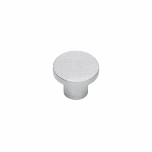 Intersteel kasttrekker diameter 30 mm plat INOX geborsteld