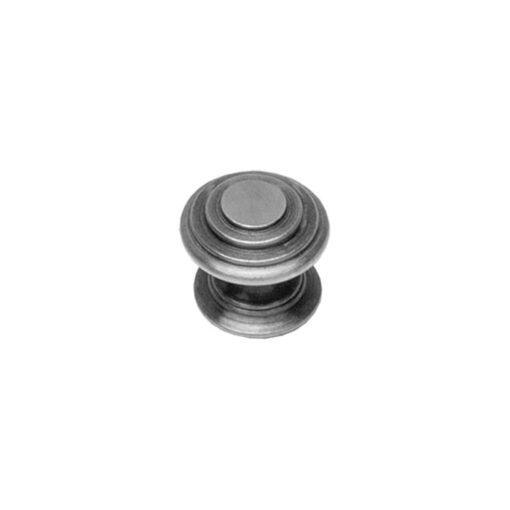 Intersteel kasttrekker rond punt diameter 35 mm oud grijs