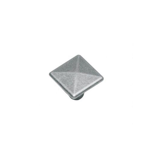 Intersteel kasttrekker vierkant 26 mm oud grijs