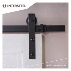 Intersteel Schuifdeursysteem Basic mat zwart - Sfeerbeeld 5