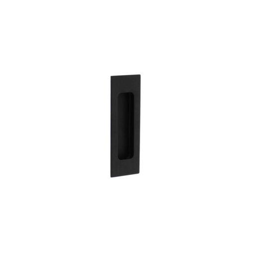 Schuifdeurkom 120 x 40 mm mat zwart