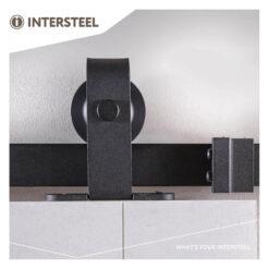 Schuifdeursysteem Basic Top mat zwart - 5