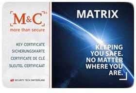 M C Matrix certificaat