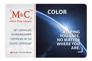 Mc color pro certificaat