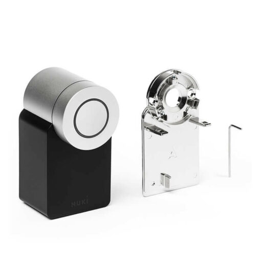 Nuki Smart Lock 2 met montageplaat