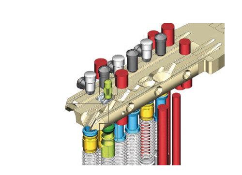 Dom IX Twido veiligheidscilinder - Doorsnede sleutel