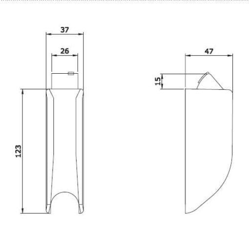 Iseo 9410201504 - Technische tekening